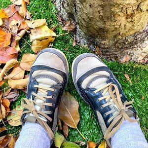 Cushe Vintage-Look Suede & Leather Sneakers